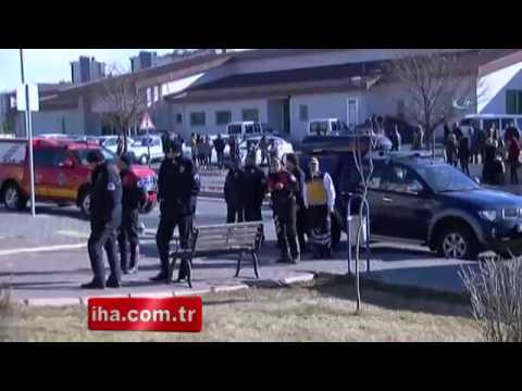 Kayseri'de Üniversitenin Çatısı Uçtu: 4 Yaralı ART HABER