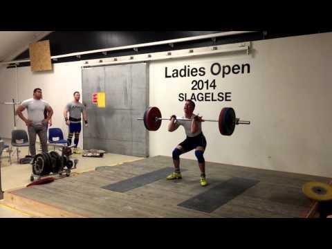 120 kg clean and jerk  Christian Madsen