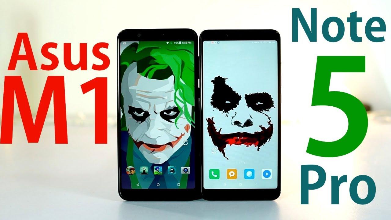 Asus Zenfone Max Pro M1 vs Redmi Note 5 Pro Comparison