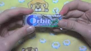 Вкусняшка № 6   Жвачка ORB T Нежная мята