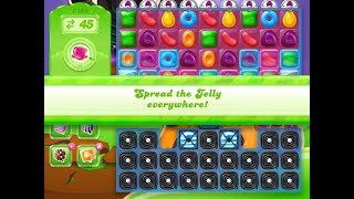 Candy Crush Jelly Saga Level 1162 (3 stars, No boosters)