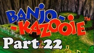 Let's Play Banjo Kazooie [100%] Part 22 - Shark Jumping Leprechaun