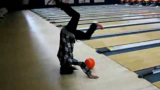 most impossible bowling trick shot