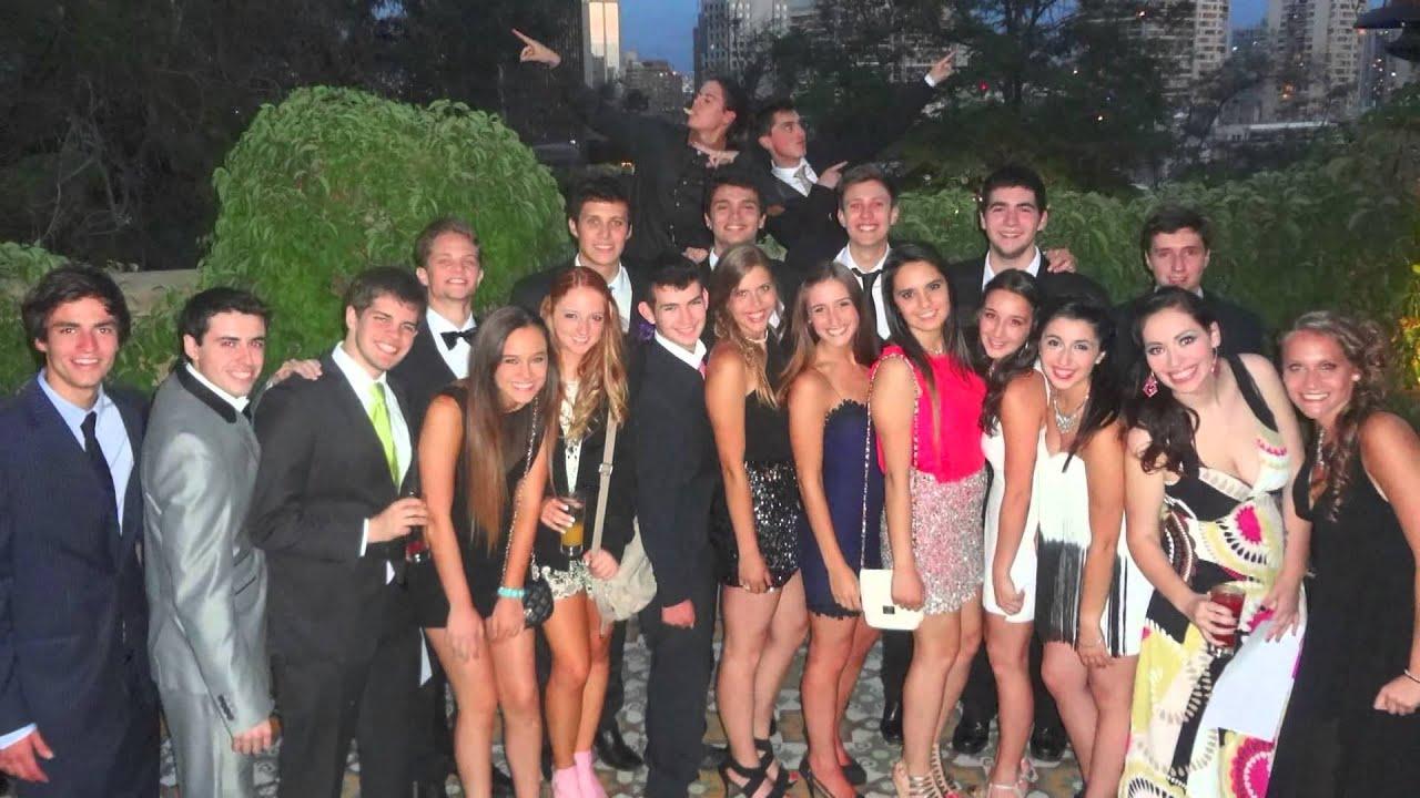 fiesta de colegio chica