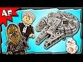 Lego Star Wars MILLENNIUM FALCON 75105 Stop Motion Build Review
