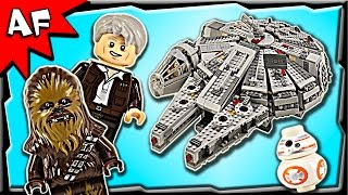 Lego Star Wars Millennium Falcon 75105 Stop Motion Build Review