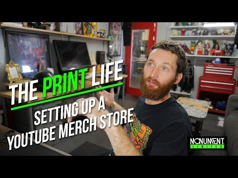 How To Set Up A Screen Printing Merch Store
