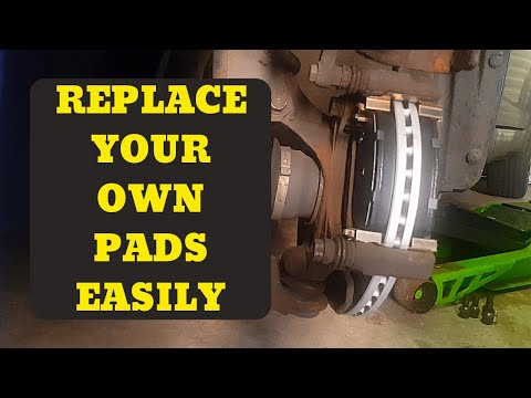 how to replace brake pads and disks Suzuki swift