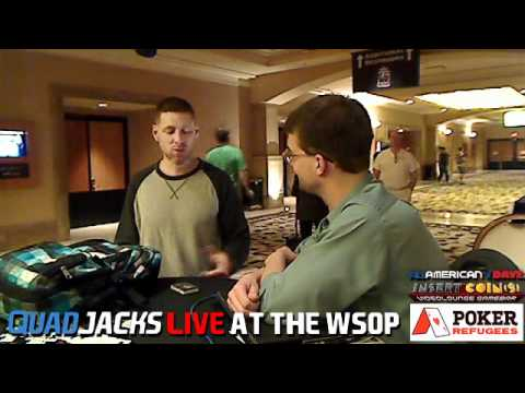 Huckleberry Seed not excited about interview QuadJacks Live at the WSOP June 13, 2012
