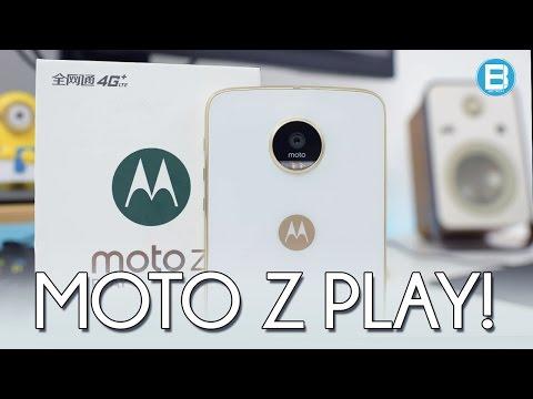 MOTO Z PLAY DE 64GB! O MELHOR CELULAR DA MOTO? ANÁLISE COMPLETA! (2017)