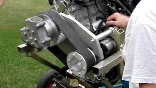 psru belt reduction drive for honda moto bike engine