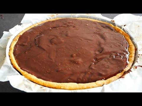 chocolate-ganache---ganache-au-chocolat-–-tarte-chocolat-et-caramel-beurre-salé-companion-thermomix