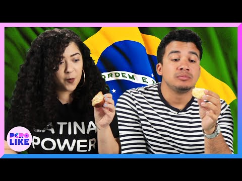 Latinos Try Brazilian Food For The First Time