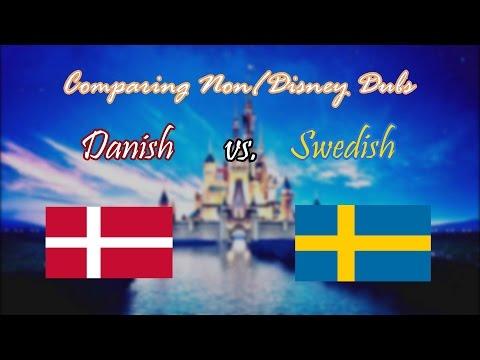 Comparing Non/Disney Dubs: Danish vs. Swedish