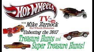 Hot Wheels Treasure Hunt & Super Treasure Hunt Cars for 2017