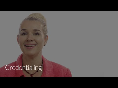 Credentialing Software for Higher Ed