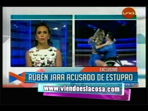 SANDRA ALCAZAR XXX MUESTRA INDIGNACIÓN POR EL PROCEDER DE RUBÉN JARA, SU EX COMPAÑERO DE BAILE