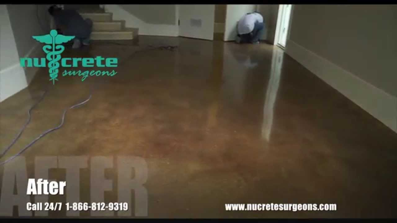 How To Resurface A Garage Floor Start Finish You
