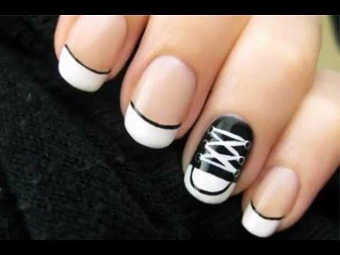 Красивый и лёгкий дизайн ногтей