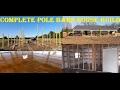 How To Build A Pole Barn House