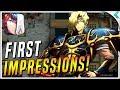 LANGRISSER M | Upcoming Tactical RPG | First Impressions
