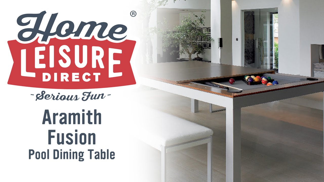 Aramith Fusion Pool Dining Table   YouTube