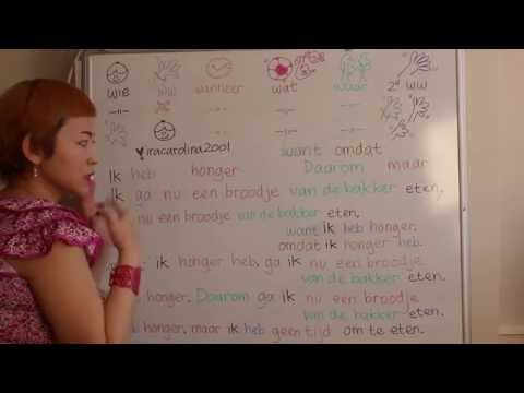 LEARN DUTCH/ NETHERLANDS & INDONESIAN/ BAHASA INDONESIA [IN ENGLISH] #34 BECAUSE BUT THAT'S WHY