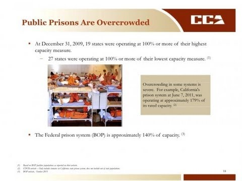 Scary: Private Prison Presentation For Investors