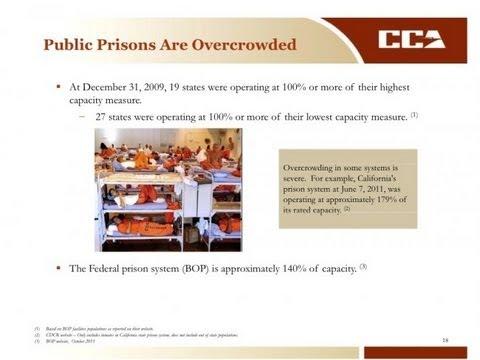 Scary: Private Prison Presentation For Investors