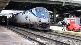 My Amtrak Silver Star Trip between Richmond, VA and Washington, DC
