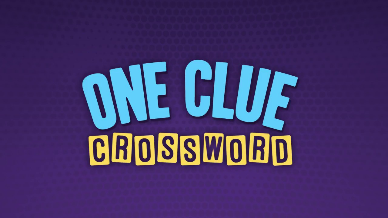 One Clue Crossword Picture Crosswords For IOS Android Amazon