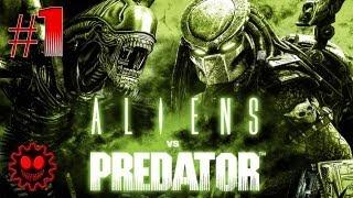 Aliens vs Predator 2010 - серия 1 [Хищник]