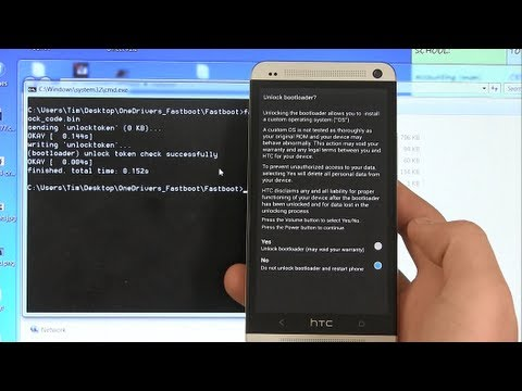How To Unlock The Htc One Bootloader All Models Youtube