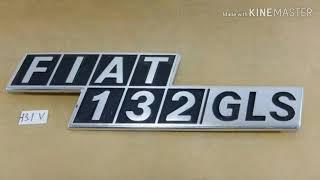 """ Fiat 132 ,132 GLS & 131 mirafiori"