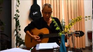 Chiều Làng Em (NS Trúc Phương - minhduc mộc mạc guitar)