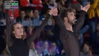 Gabriella PAPADAKIS Guillaume CIZERON Internationaux de France 2019 Произвольный танец