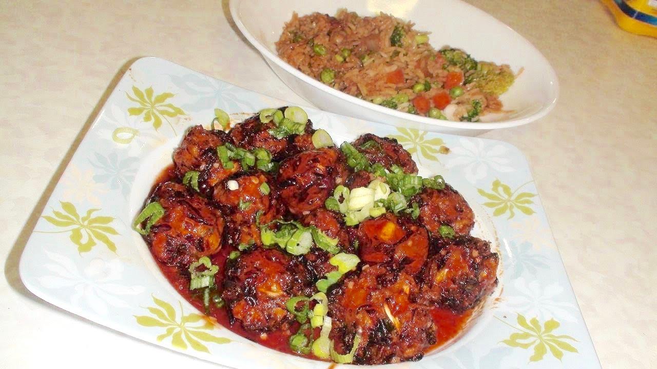Vegetable Manchurian R...