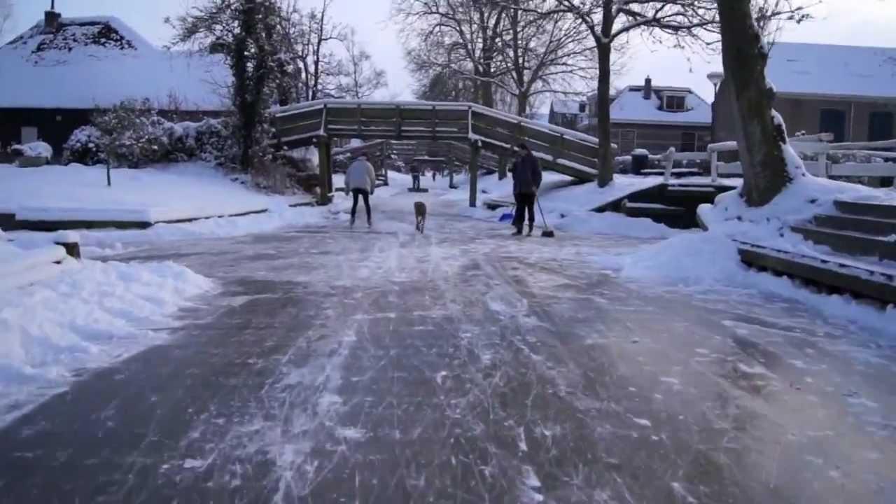 Giethoorn 2012 Skating Youtube