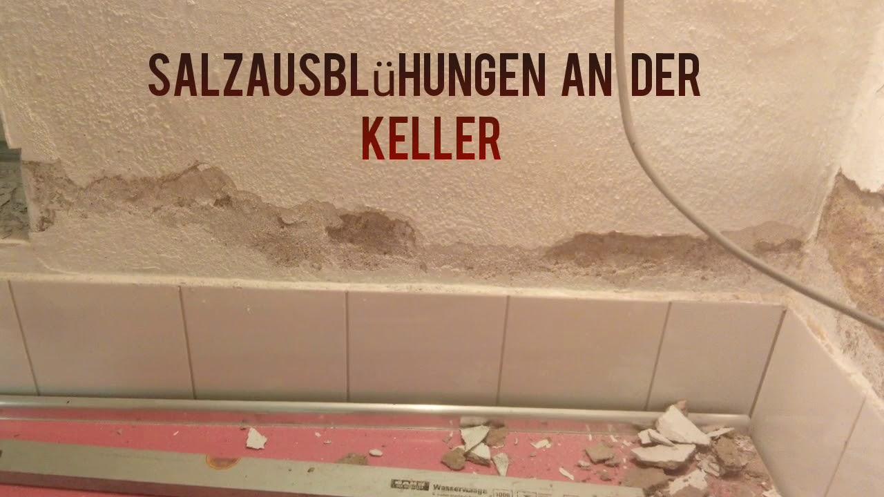 Super Kellerwand Sanierung nach Salzausblühungen - YouTube CV69