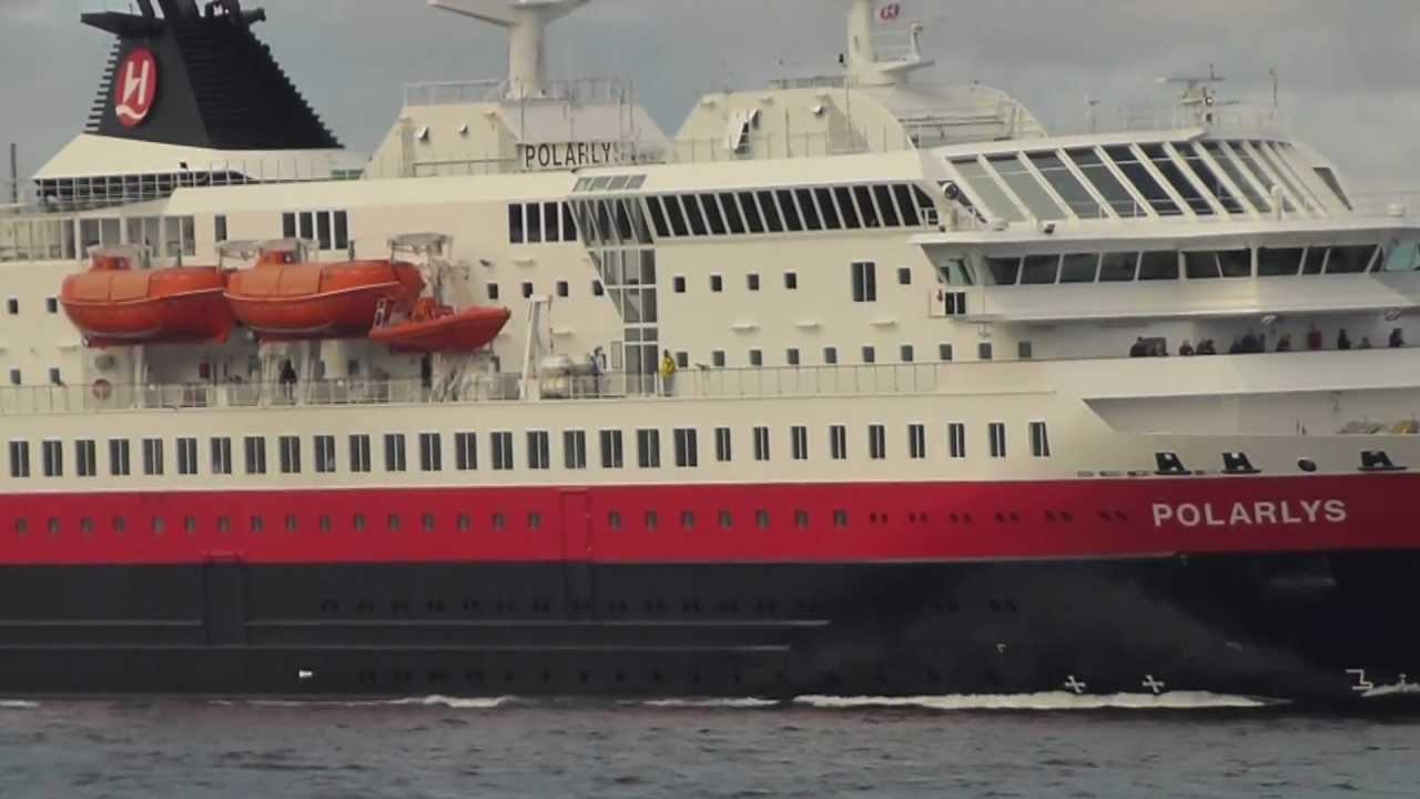 Hurtigruten Ms Polarlys Hammerfest Youtube