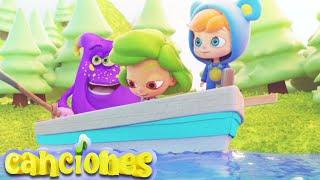Rema en tu barca - Rimas y canciones infantiles | LooLoo