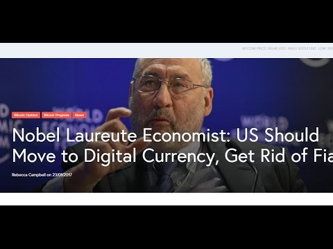 RTD News: Nobel Laureute Economist: US Should Move to Digital Currency, Get Rid of Fiat
