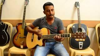 banjara ek villan guitar cover by sargam palace