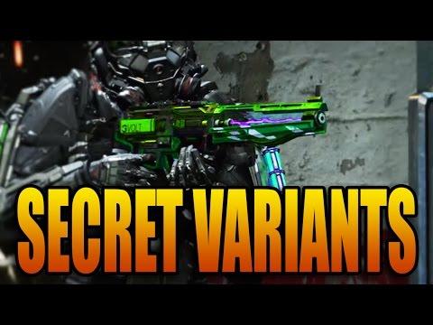 Secret/Hidden AE4 Assault Rifle Variants in Advanced Warfare!