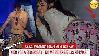 CAZZU ENCIENDE el BS TRAP ! - DUKI SUFRE CAIDA - KIDD KEO le pone los PUNTOS al SEGURIDAD thumbnail