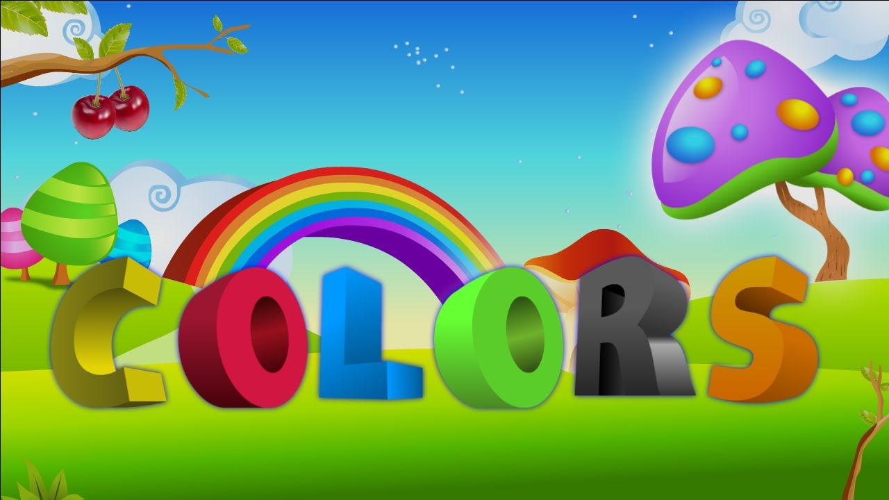 """What Are Basic Colors learn basic """"colors name"""" with pictures and name - youtube"""