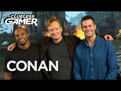 "Thumbnail: Clueless Gamer Super Bowl Edition: ""For Honor"" - CONAN on TBS"