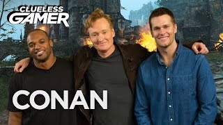 "Clueless Gamer Super Bowl Edition: ""For Honor""  - CONAN on TBS"