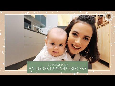 Dia de Trabalho - Saudades da Minha Princesa VLOGMAS DIA 7 | Mafalda Sampaio