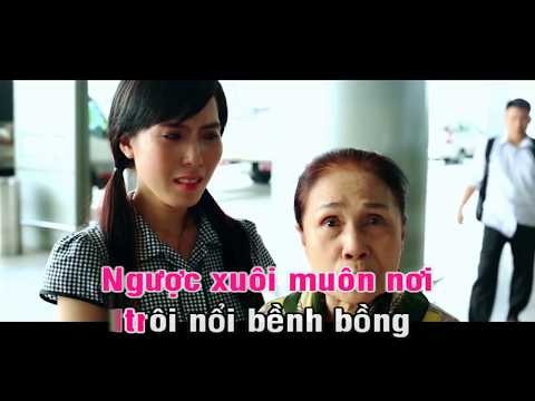 Lênh Đênh Phận Lục Bình - Karaoke - Diệp Hoài Ngọc - Minh Minh